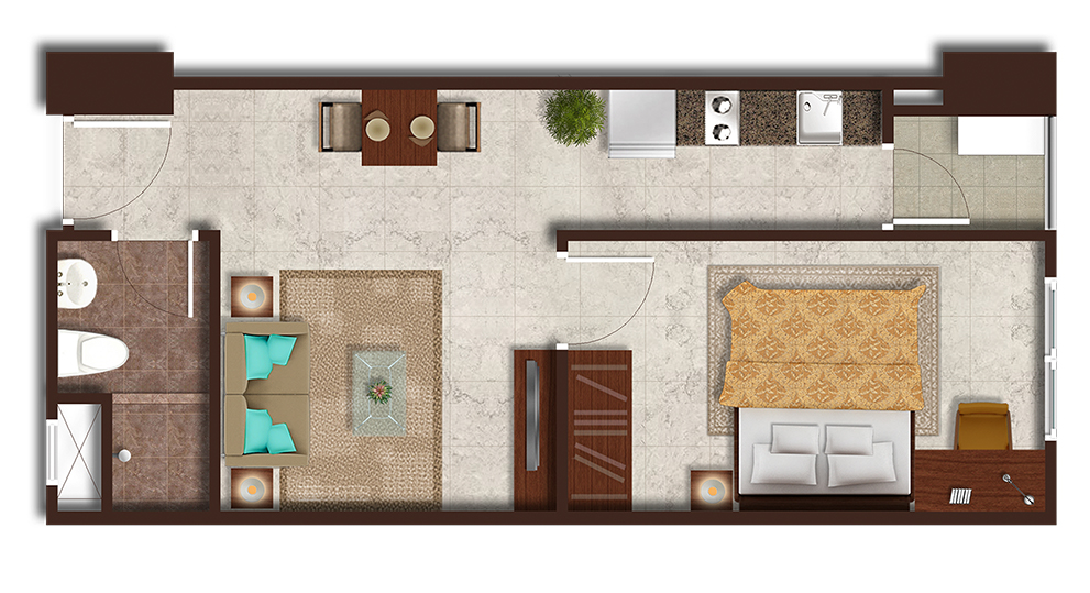 Podomoro City Deli Medan Deluxe 1 Bedroom