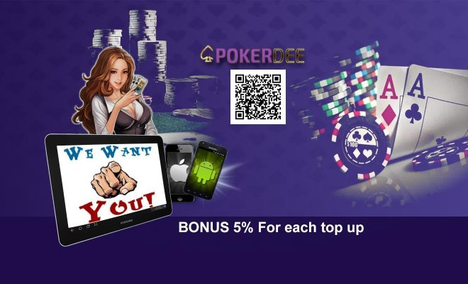 Promotion pokerdee we want you back