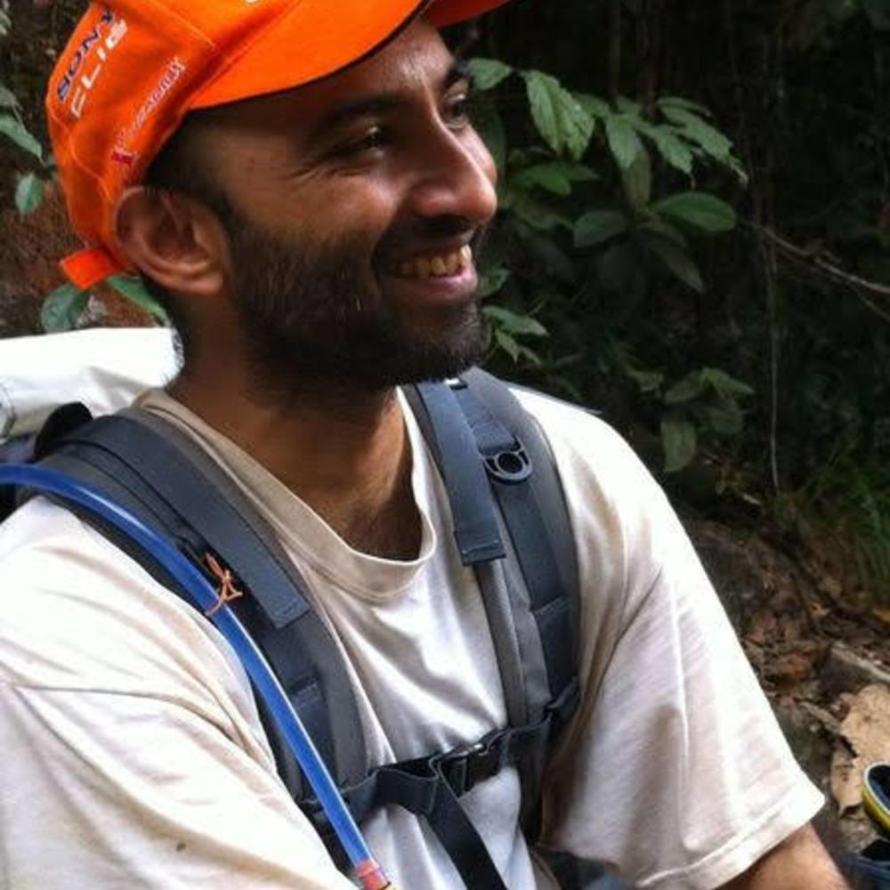 Jayakumar hiking
