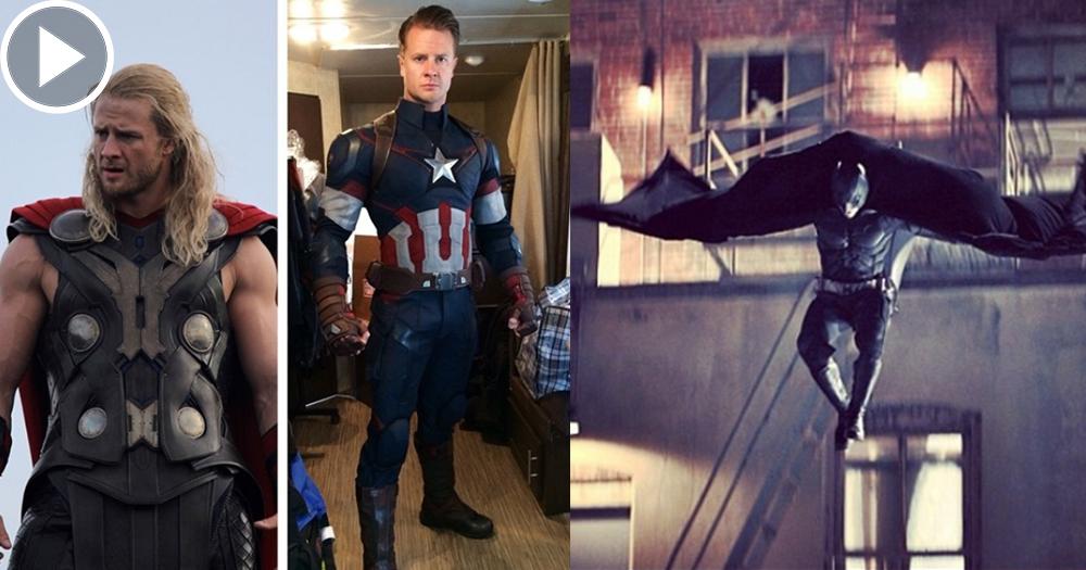 【幕後英雄】超級英雄們的御用替身 地表最強特技人