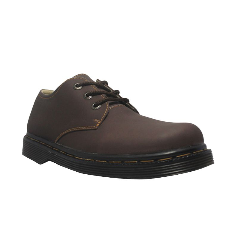 D-Island Shoes Style Hikers DM Mens Leather