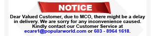 Delay Notice
