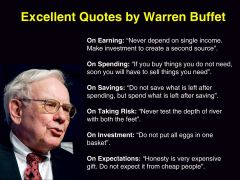 Excellent Quotes By Warren Buffet
