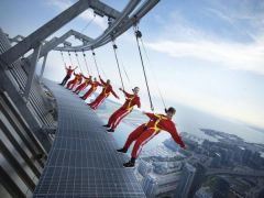 On The Edgewalk In Toronto.
