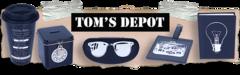 Tom's Depot Logo