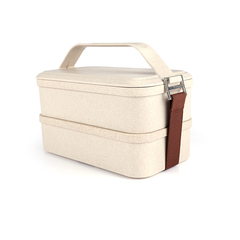 Sustainable 2-Tier Lunch Box