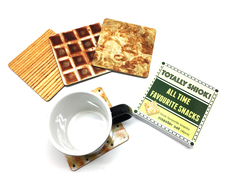Totally Shiok Snacks Coaster Set
