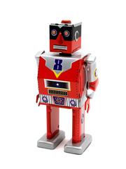 Old-school Tin Toy Laser Robot