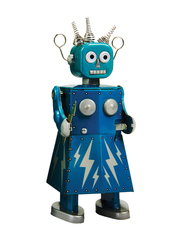 Old-school Tin Toy Electra Robot II