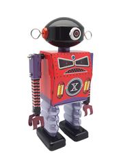 Old-school Tin Toy Dark Templar Robot