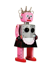 Old-school Tin Toy Roxy Robot