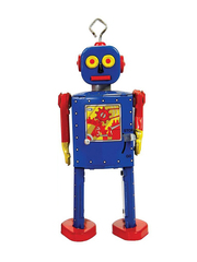 Old-school Tin Toy Neutron Robot