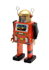 Old-school Tin Toy TV Spaceman Robot