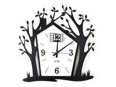 Pictorial Treehouse Wall Clock