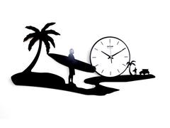 Pictorial Beach Wall Clock