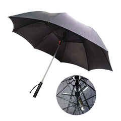 Umbrella With Power Bank & Fan