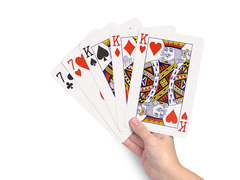 A4 Poker Set