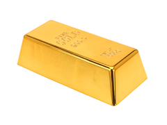Gold Bar Door Stopper
