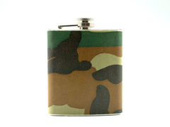 Tipsy Whiskey Flask (Fabric)