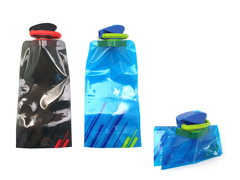 Collapsible Water Bottle With Supercap
