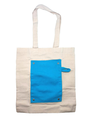Foldable Colour Canvas Tote Bag