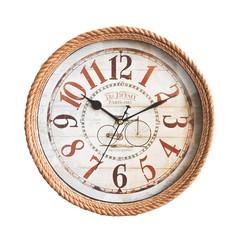 Rustic Gunny Sack Wall Clock