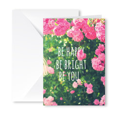 Heartfelt Greeting Card (Happy, Bright, You)