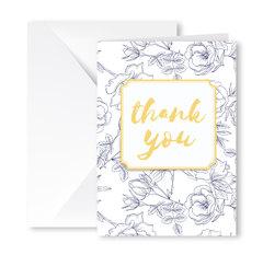 Heartfelt Greeting Card (Thank You)