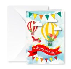 Heartfelt Greeting Card (Birthday Balloon)