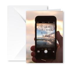 Heartfelt Greeting Card (Change The World)