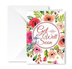 Heartfelt Greeting Card (Get Well Soon)