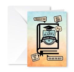 Heartfelt Greeting Card (Happy Graduation)