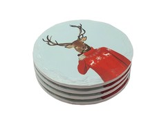 Exquisite Coaster Set (Deer Head)