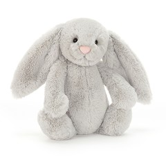 Bashful Silver Bunny (Medium)