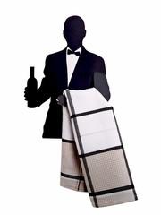 Wine Waiter Rack