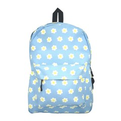 Colourful Canvas Backpack (Flowers)