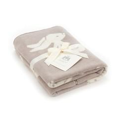 Bashful Beige Bunny Blanket