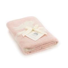 Bashful Pink Bunny Blanket