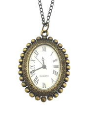 Classic Bronze Necklace Watch (Marilyn Monroe)