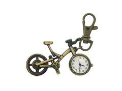 Classic Bronze Keychain Watch (Bicycle)