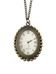 Classic Bronze Necklace Watch (Royal)
