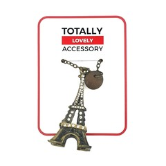Lovely Necklace (Eiffel Tower)