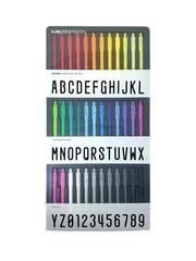 Prismatic Alphanumeric Pen Suite