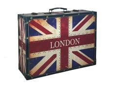 Signature Flag Wooden Case/Luggage (UK)