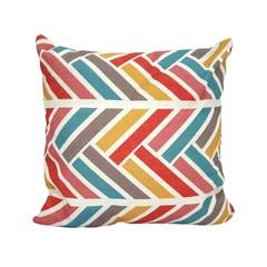 Rustic Couch Pillow (Herringbone)