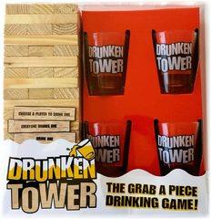 Entertaining Drunken Tower Game Set
