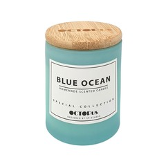 Refreshing Homemade Scented Candle (Blue Ocean)