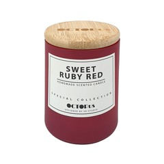 Vivacious Homemade Scented Candle (Sweet Red Ruby)