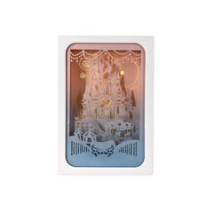Magnificent Magic Castle Paper Cut Light Box