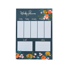 Pretty Floral Weekly Planner
